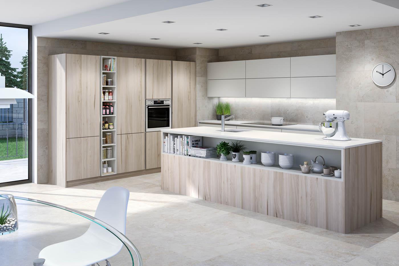 Imágenes virtuales de cocinas de alta calidad