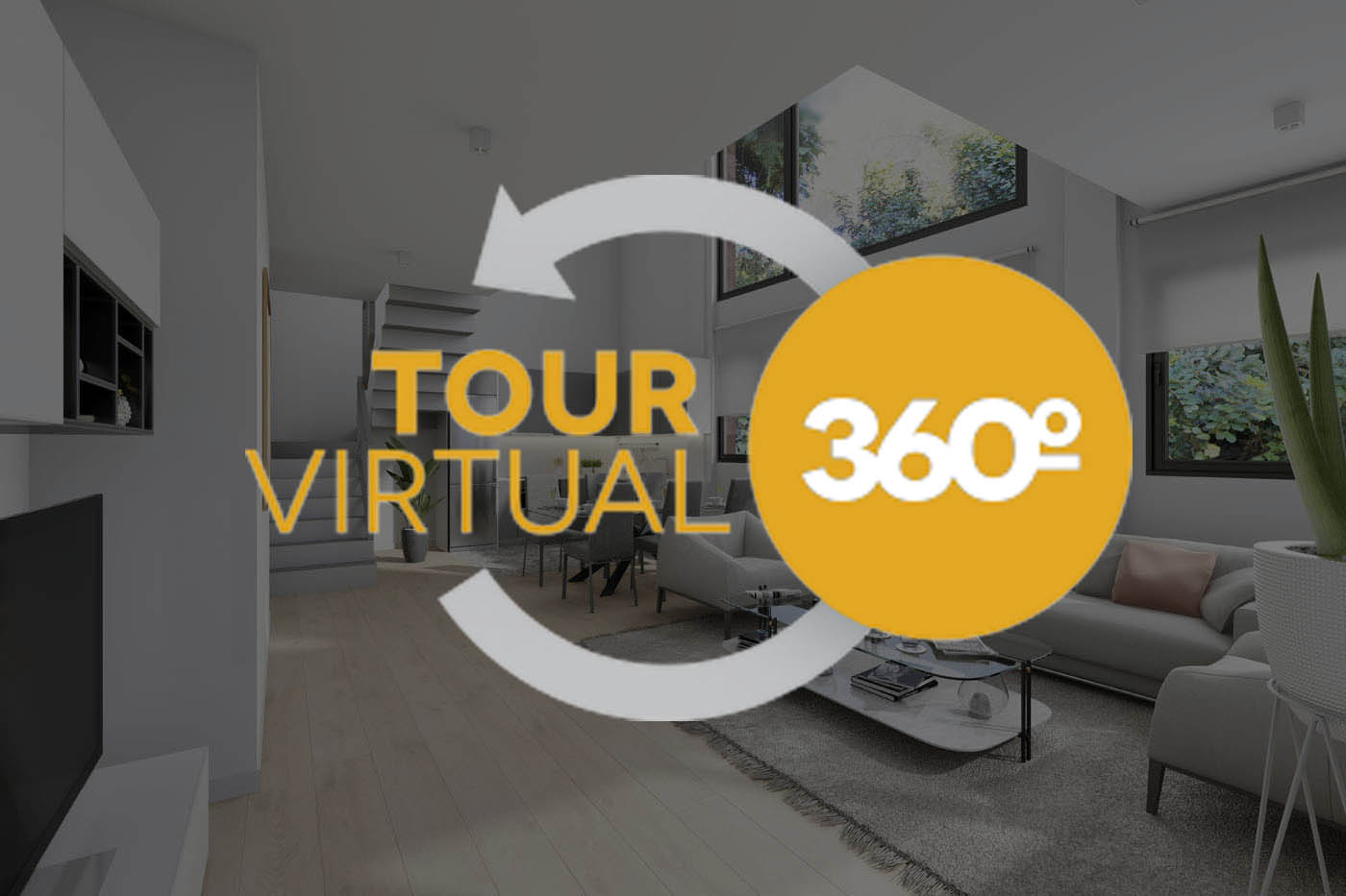 Tour virtual 360º de una vivienda en Barcelona
