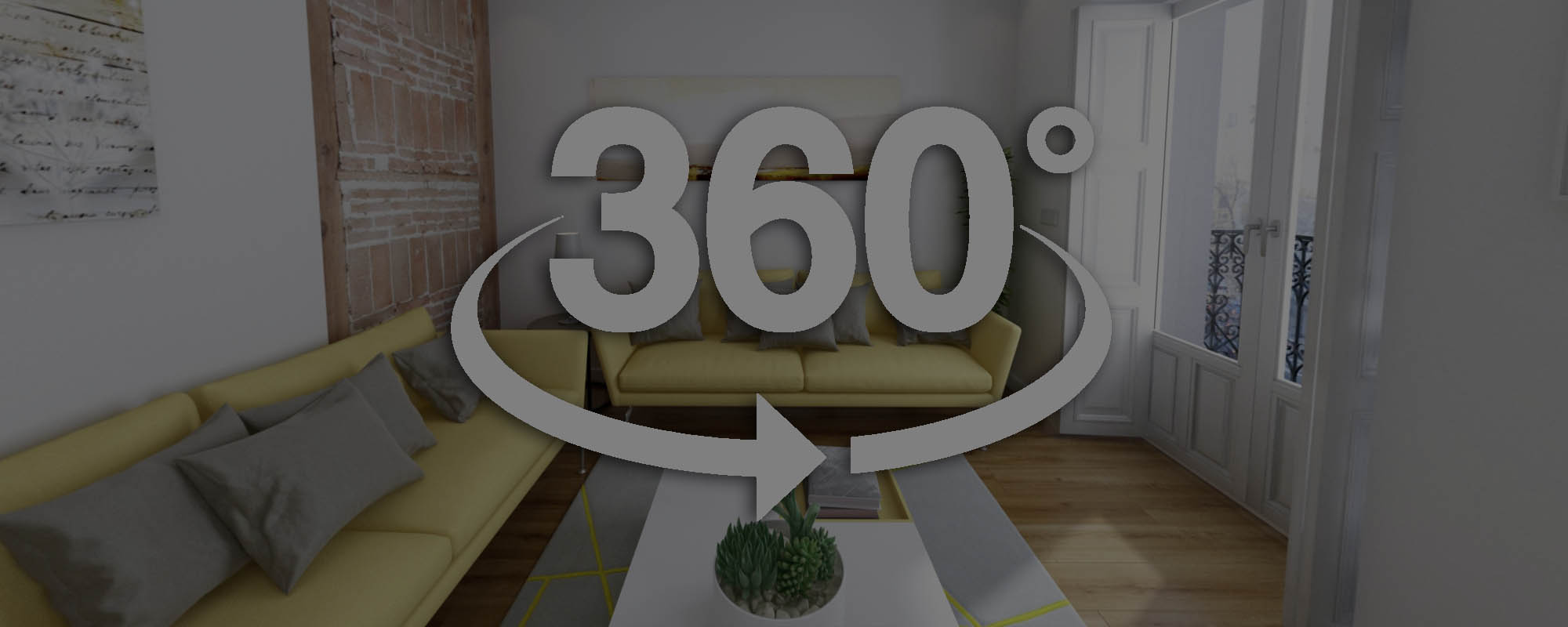 Tour virtual de una vivienda en Madrid con vistas 360º VR